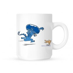 Mug 320ml ALIEN - ALIEN Cute Cat