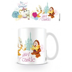Mug Disney - La Belle et la Bête - Be our guest - 320ml