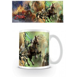 Mug Legend of Zelda Twilight Princess Characters - Link - 320ml
