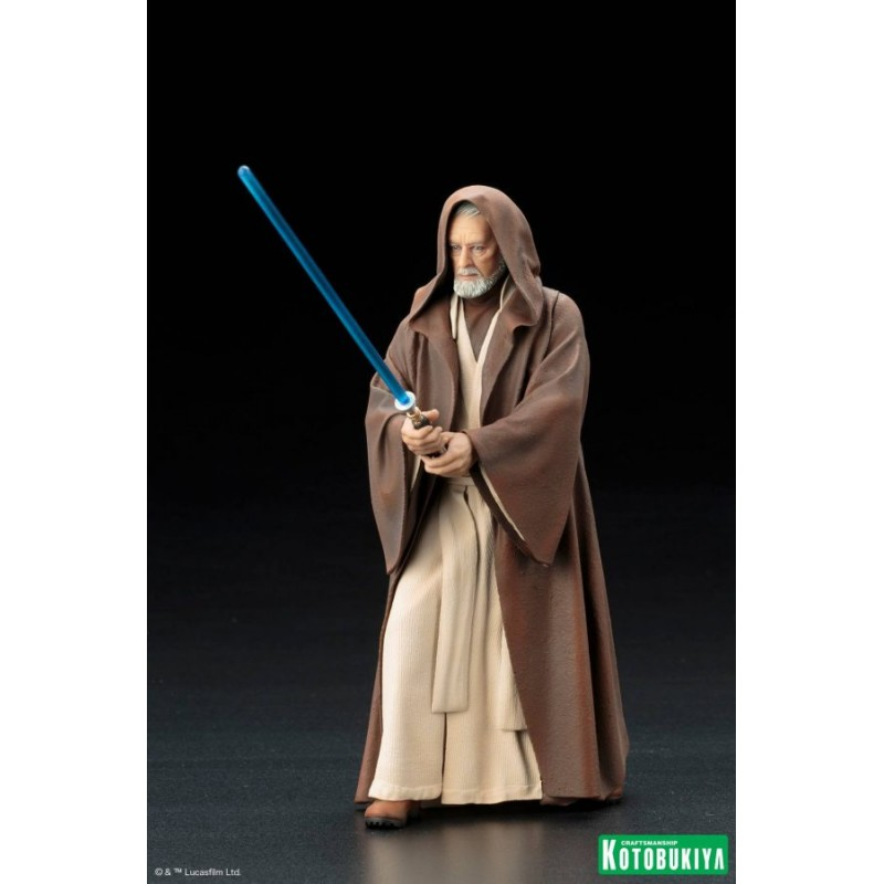 statue pvc artfx kotobukiya star wars obi wan kenobi. Black Bedroom Furniture Sets. Home Design Ideas