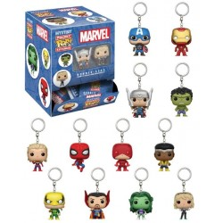 Funko Pocket Pop Keychain Blindbag - MARVEL 4cm - au hasard