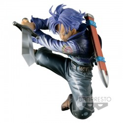 Figurine Dragon Ball Z - Scultures - Metallic FUTURE TRUNKS  - 11cm - Banpresto