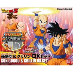 Maquette Bandai - Figure-rise - DBZ - Dragon Ball Z - Son Goku & Krillin set