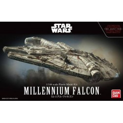 Maquette Star Wars The Last Jedi - Faucon Millenium - 1/144 - Bandai - sans colle