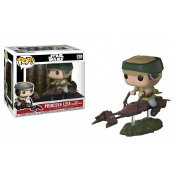 Funko Pop Star Wars - Princess Leia with landspeeder