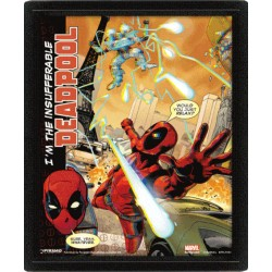 Poster 3D Lenticular Marvel Comics - Deadpool Attack - 25x20 cm