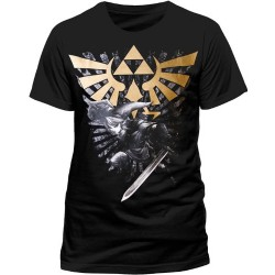 T-shirt The Legend of Zelda Gold Logo - taille L