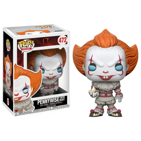 Funko Pop Movies - IT - Pennywise with boat