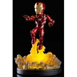 Figurine QFIG Marvel Comics - Lights Up - Iron Man - 14cm