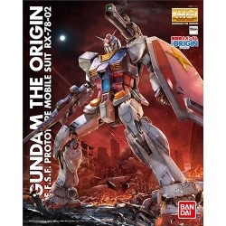Maquette MG 1/100 RX-78-02 Gundam (the Origin)