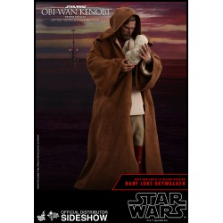 Statue Star Wars : Revenge of the Sith - Deluxe Obi-Wan Kenobi 1:6 Scale Hot Toys - Prix préco