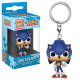 Funko Pop Games - Porte-clé Sonic the Hedgehog with ring - Keychain 4cm