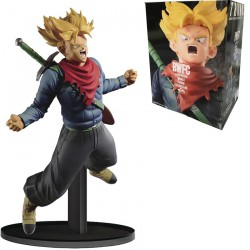 Figurine BWFC Dragon Ball Z - Travelling Trunks SS - 18cm Banpresto