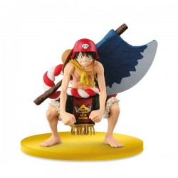 Figurine Banpresto - One Piece Scultures - LUFFY - 13cm
