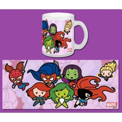 Mug Marvel Comics GROUP 2 Kawaii