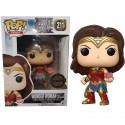Funko Pop DC Justice League - Wonder Woman with Mother Box Exclu