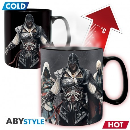 Mug ASSASSIN'S CREED - Mug Heat Change - 460 ml - Groupe
