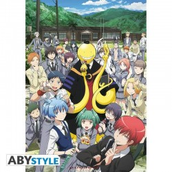 "Poster Assassination Classroom ""Groupe"" 91,5x61 (roulé filmé)"