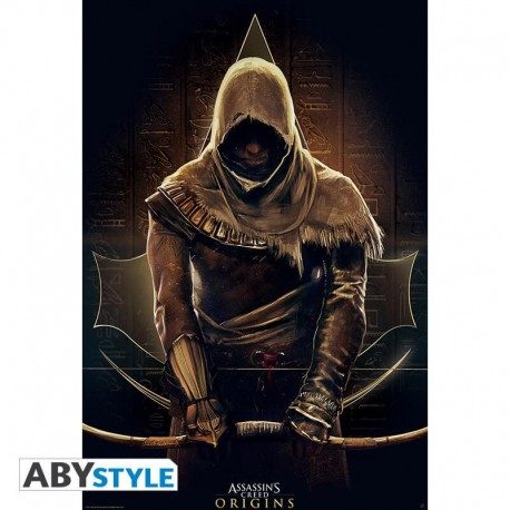 "Poster Assassin's Creed ""Origins"" 91,5x61 (roulé filmé)"