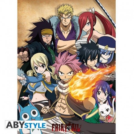 Poster Fairy Tail Guilde 52x38