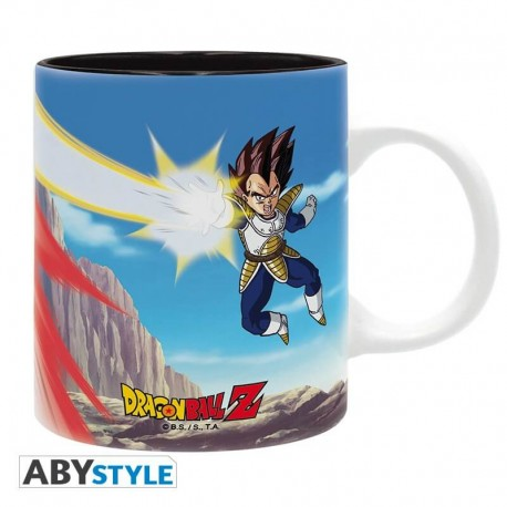 Mug Dragon Ball DBZ Vegeta vs Goku - 320 ml