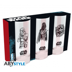Set de 3 verres Star Wars 29cl
