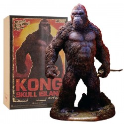 Statue PVC King Kong 32cm - Deluxe - Kong Skull Island version