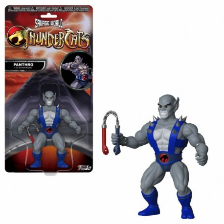 Figurine Thundercats - Savage World - Panthro - 15cm