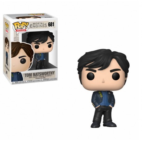 Funko Pop Movie - Mortal Engines - Tom Natsworthy