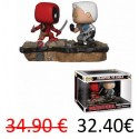 Funko Pop Marvel - Movie Moments Cable vs. Deadpool 2-pack