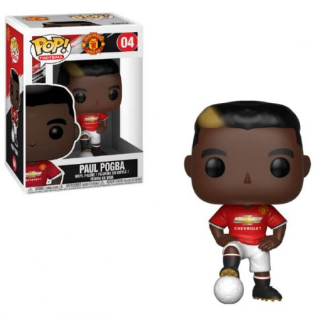 Funko Pop Premier League Footbal - Paul Pogba (Manchester UNited) - Prix Préco