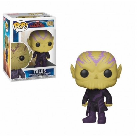 Funko Pop Marvel Movie - Captain Marvel - Talos