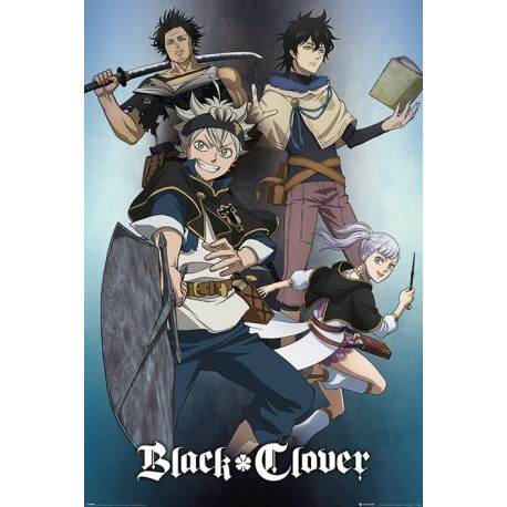 Poster Black Clover Magic - 61 x 91 cm