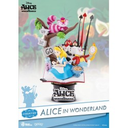Diorama Disney Alice in wonderland - PVC - 15cm - Beast Kingdom