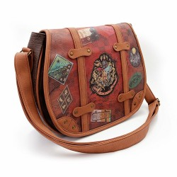Sac voyage bandoulière Harry Potter - Muffin - 34x26x10