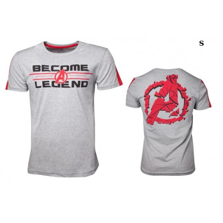 T-shirt premium Marvel - Avengers Endgame - Become a Legend ! Taille S