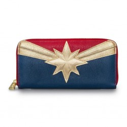 porte-monnaie wallet captain marvel loungefly