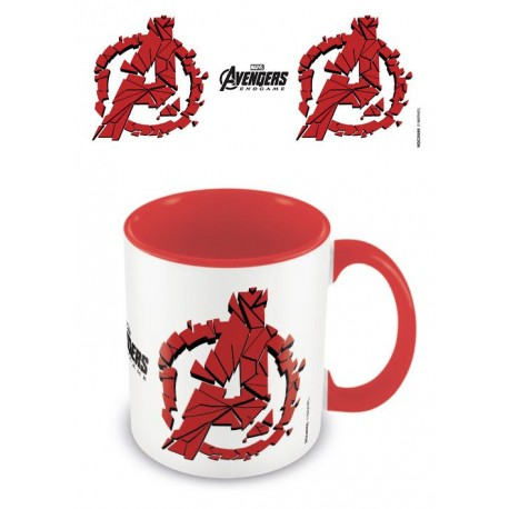 Mug 320ml Marvel Avengers Endgame shattered Logo