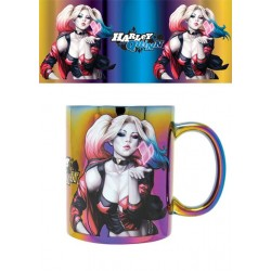 Mug 320ml DC Comics Harley Quinn Metallic effet Kiss