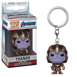 Porte-clé Funko Pop - Marvel Comics Endgame - Thanos
