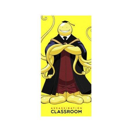 Serviette Assassination Classroom - Koro Sensei - 70x35cm 100% polyester