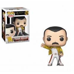 Funko Pop Rocks - Queen - Freddie Mercury Wembley 1986