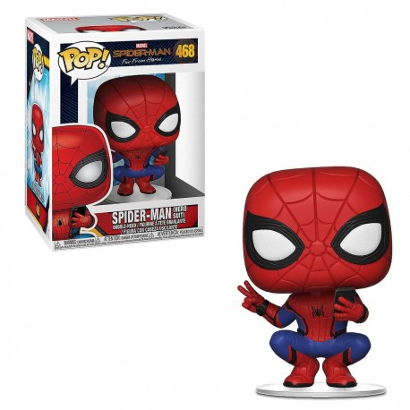 Funko Pop Marvel Comics - Spider-man Far From Home - Hero Suit