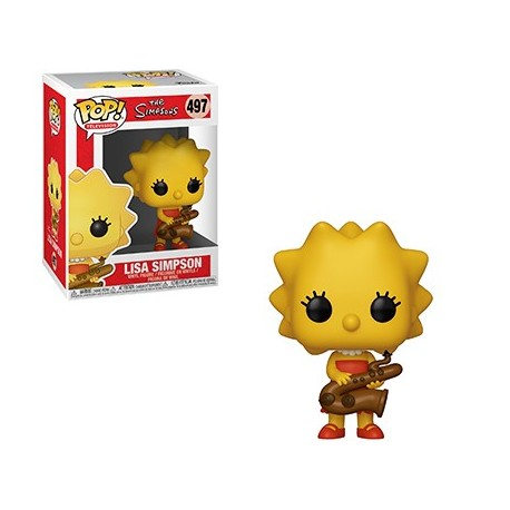 Funko Pop Cartoon - The Simpsons - Lisa with saxophone