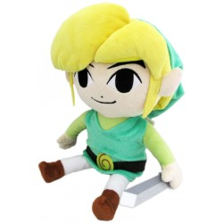 Peluche  Legend of Zelda : The Wind Waker - Link 17cm