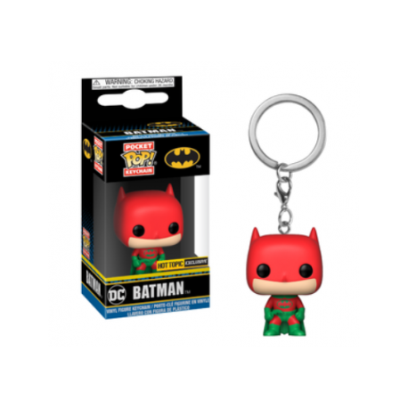 Funko Pop Keychain DC Comics Batman Holiday Limited