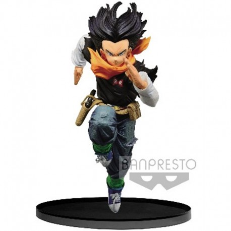 Figurine DBZ Android 17 Colosseum 17cm Banpresto