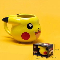 Mug 3D Pokemon - PIKACHU head - 475ml