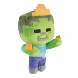 Peluche Minecraft - Zombie on fire - 18cm