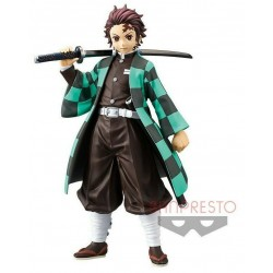 Figurine pvc Kimetsu No Yaiba - Demon Slayer - Tanjiro Kamado - 15 cm Banpresto